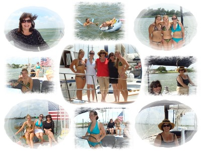 we had a great time on sailing